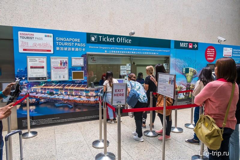 Продажа проездных билетов
