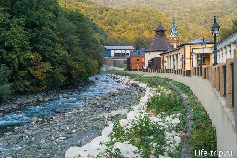Центр Моя Россия в Роза Хутор