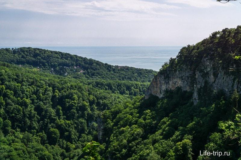 Агурские водопады в Сочи - как добраться, фото и мой отзыв