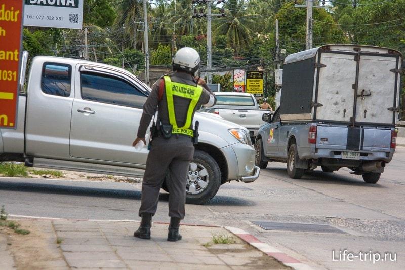 Штрафы в Таиланде за езду без прав и превышение скорости