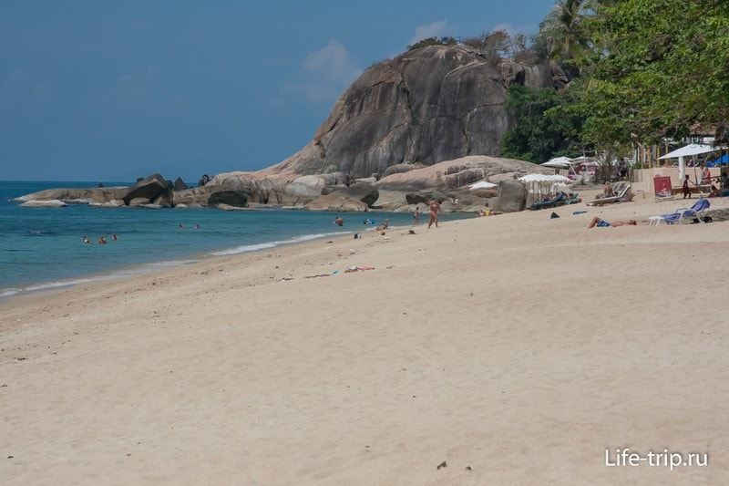 Ламаи, лучший пляж для зимовке на востоке Самуи
