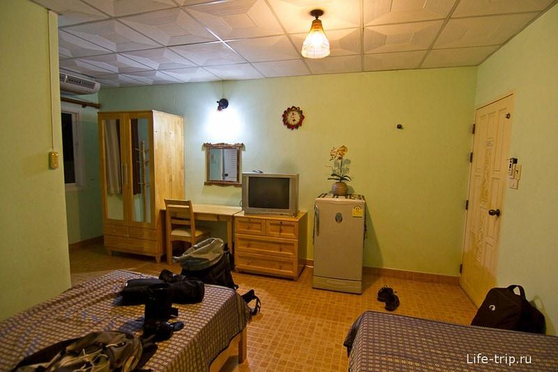 Типичная комната в тайском гестхаусе
