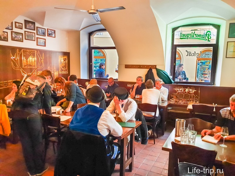 Ресторан Lokal в Праге - лучшая пивная