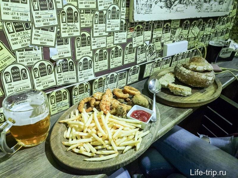Gastrobar 1402 - поесть вкусно и недорого в центре Праги