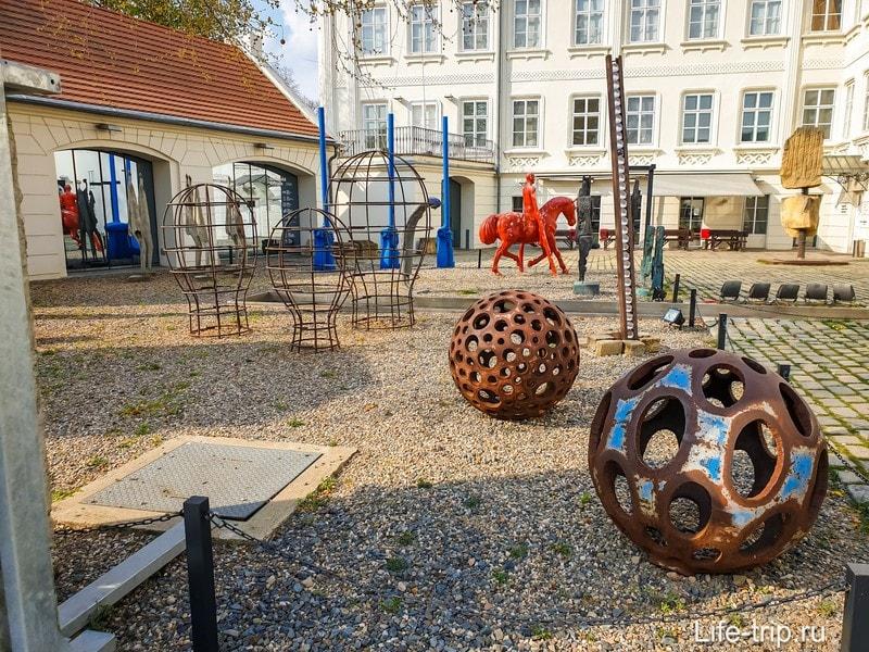 Музей Кампа в Праге - осторожно, современное искусство