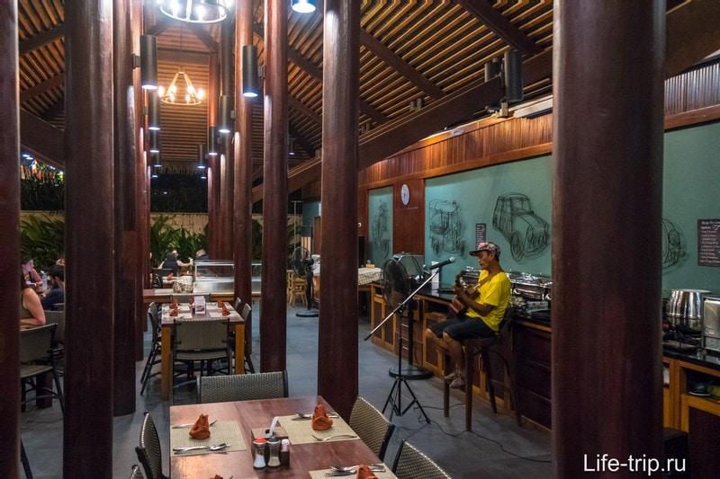 Ресторан Avatar в Краби - приятное место с живой музыкой
