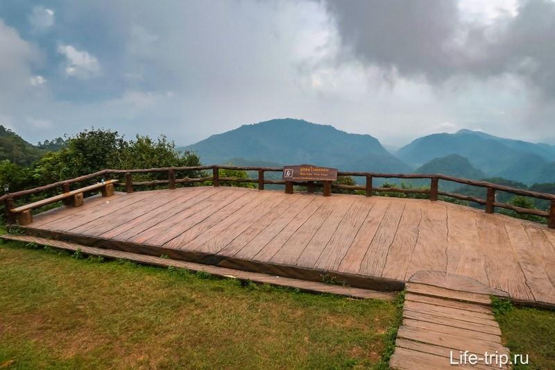 Смотровая Mon Sone в провинции Фанг