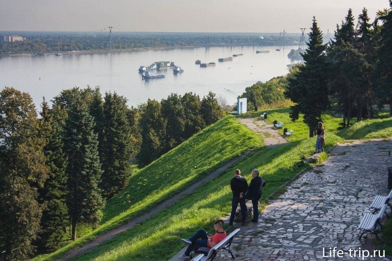 Александровский сад в Нижнем Новгороде[