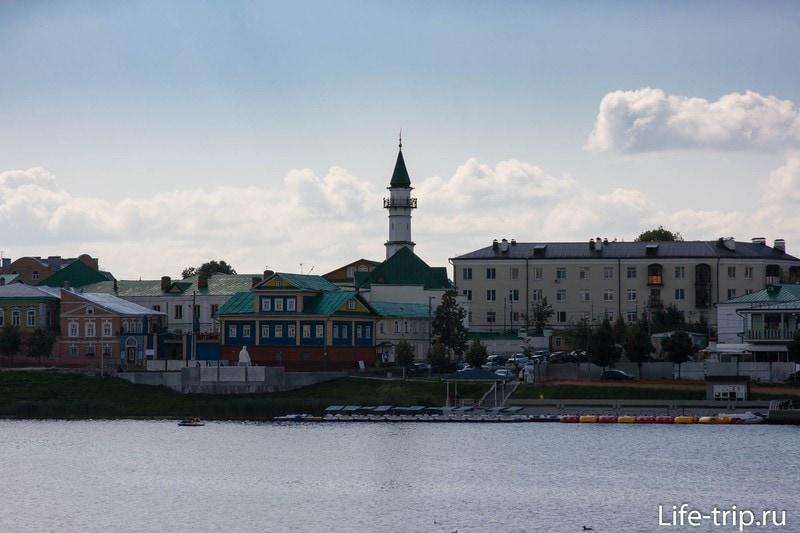 Озеро Кабан в Казани - отличная прогулка по интересной набережной