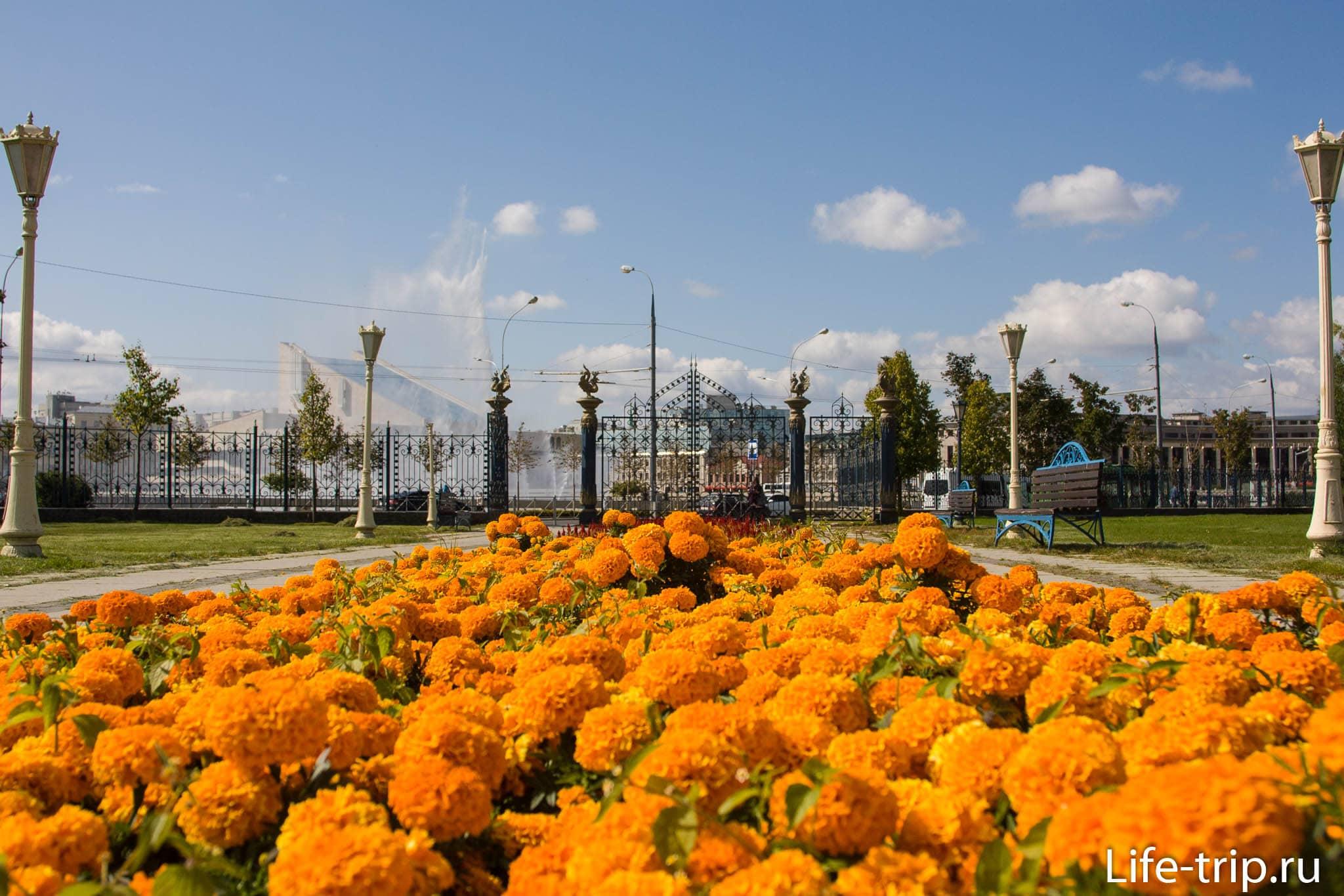 Парк Тысячелетия в Казани
