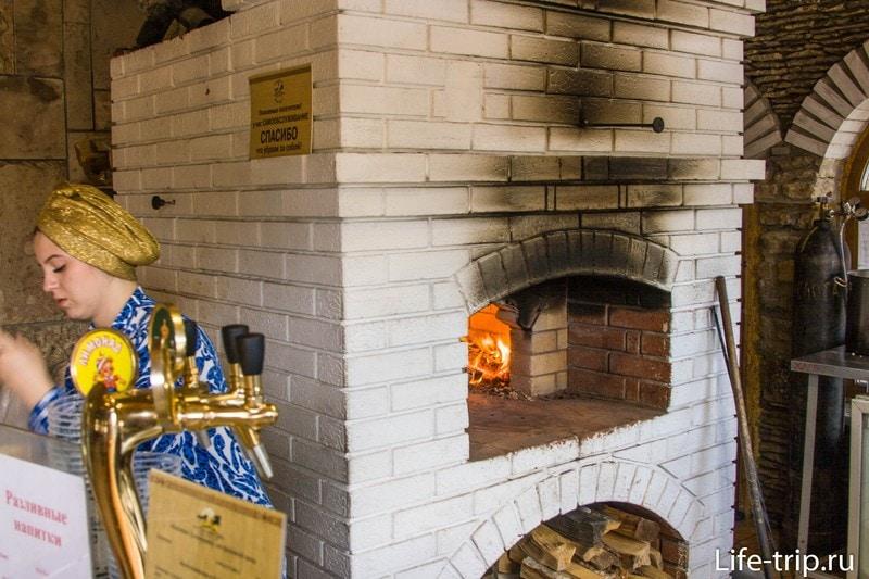 Блинная в Казани - эчпочмаки прямо с огня