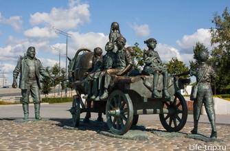 Памятник благотворителю в Казани