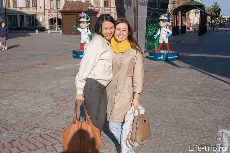 Главная достопримечательность в Казани -люди