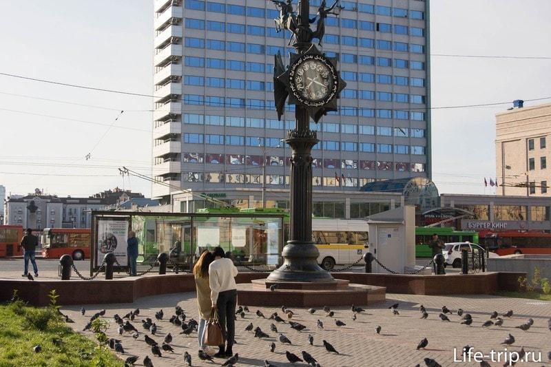 Площадь Тукая, вид в сторону Петербургской