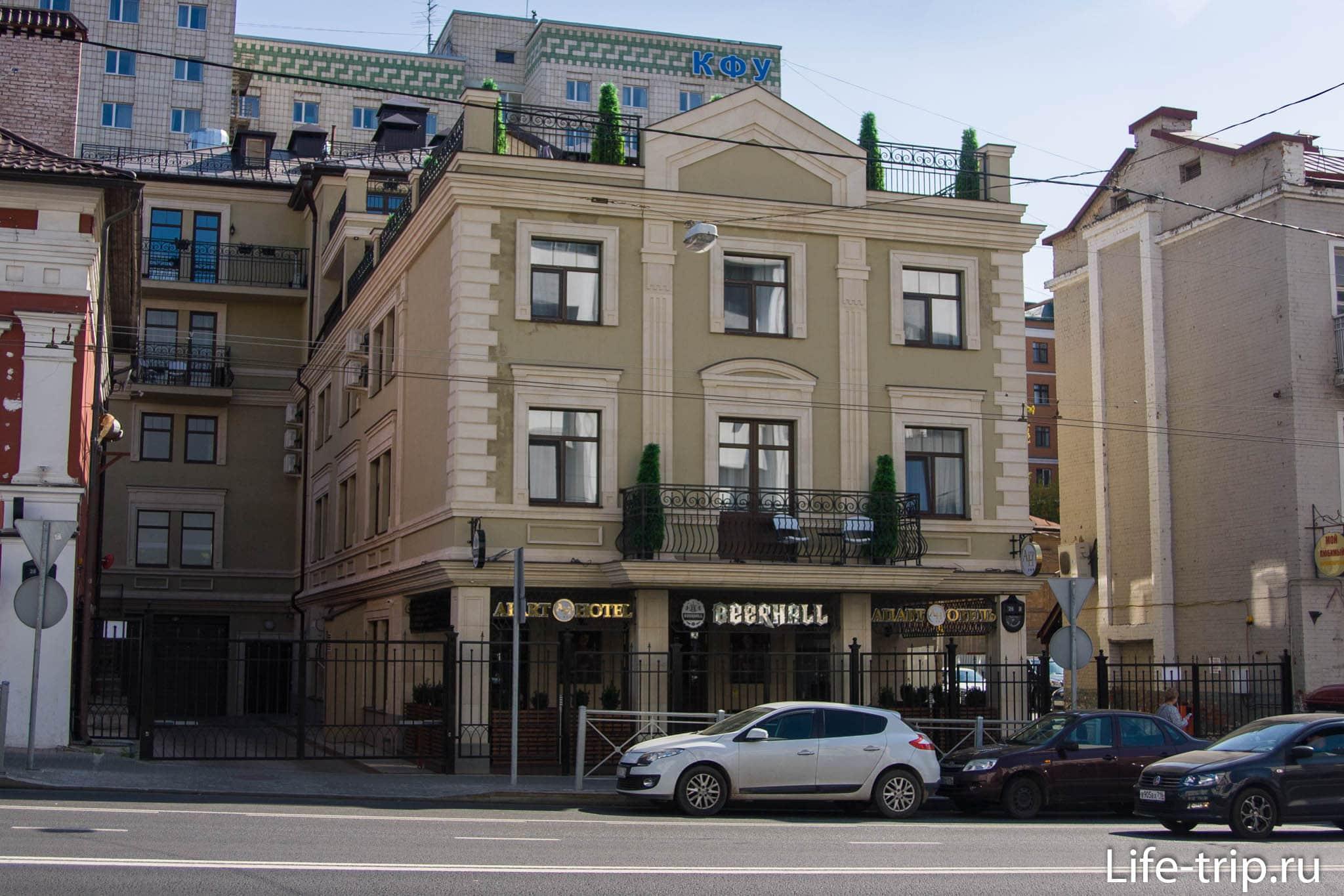 Апарт-отель на Пушкина 26 в Казани