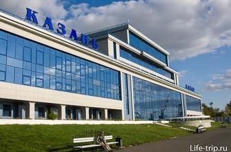 Речной порт в Казани