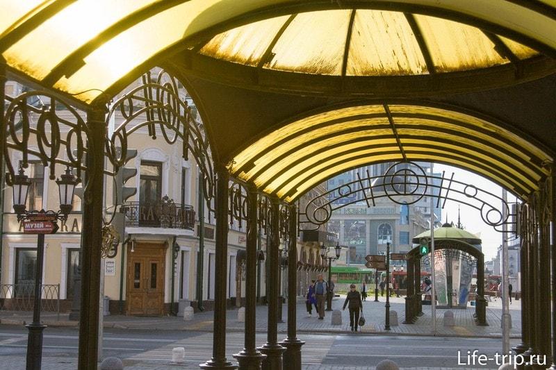 Улица Баумана и Петербургская улица
