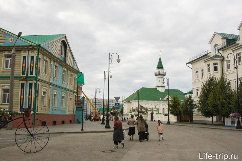 Татарская Слобода в Казани