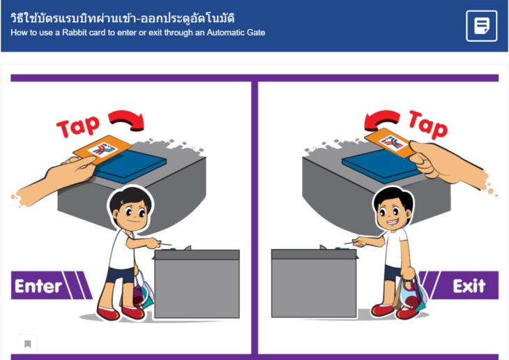 Надземное метро BTS в Бангкоке - карты для проезда