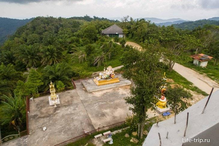 Будда Дипанкара – стоящий Будда на Самуи