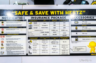 Стоимость полной страховки в Hertz