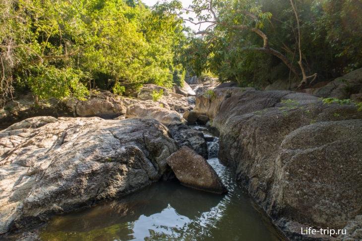 Водопад на Пангане – уютный Daeng Waterfall