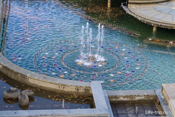 Кржижиковы фонтаны в Праге 2020
