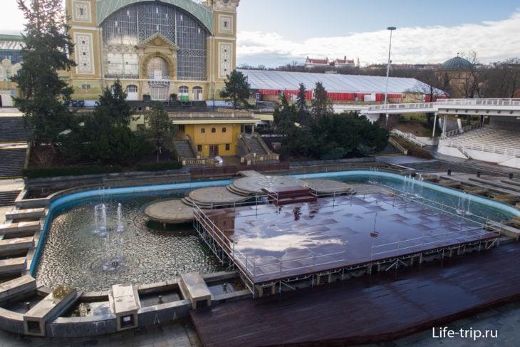 Поющие фонтаны в Праге – больше не работают