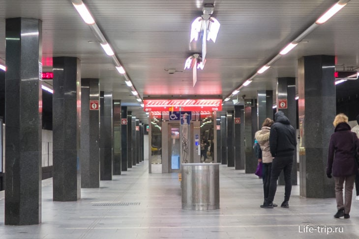 Станция И.П. Павлова, красная ветка
