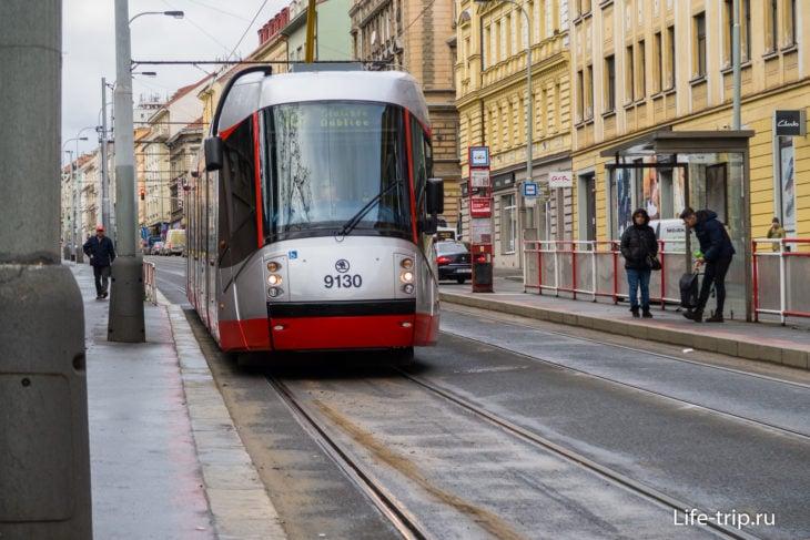 Трамваи в Праге – основной городской транспорт