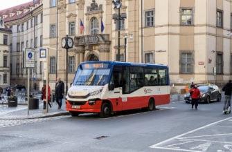 Городской автобус в Праге