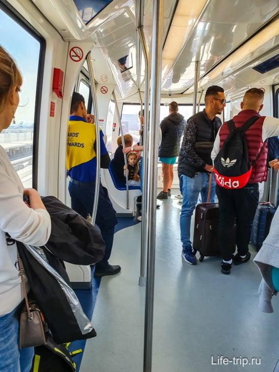 Беспилотное метро в аэропорту