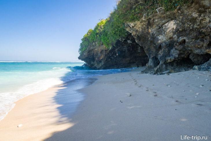 Пляж Грин Боул на Бали