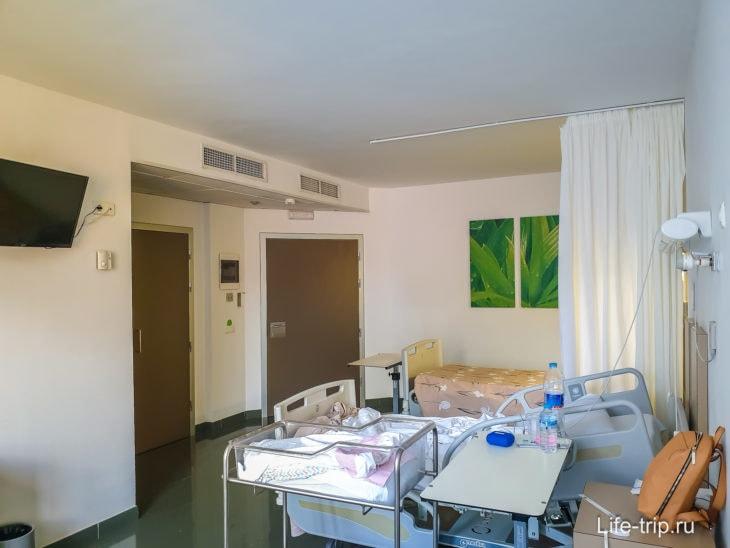 Палата в госпитале на Тенерифе, как номер в отеле