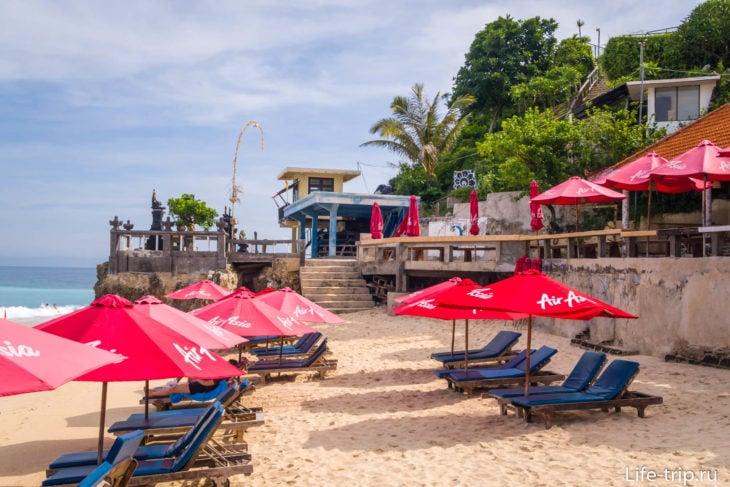 Пляж Дримленд (Dreamland Beach) – самый красивый на Бали