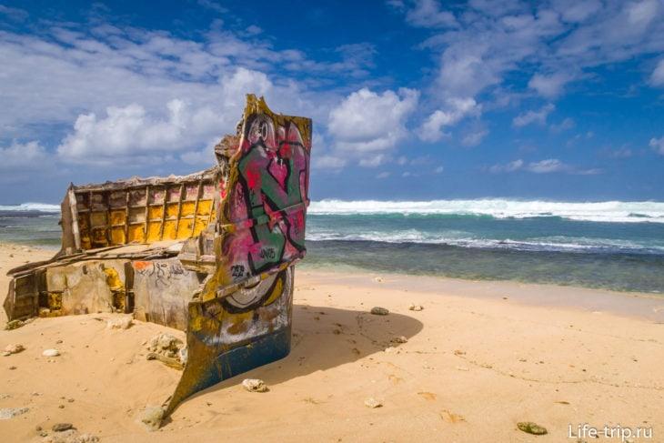 Визитная карточка пляжа Нунггалан на Бали