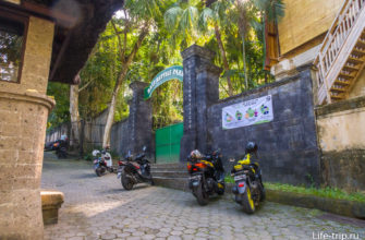 Отдельный вход в парк рептилий (был закрыт)