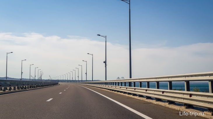 Крымский мост, Россия
