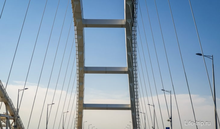 Крымский мост: длина и цена, фото и где смотровая
