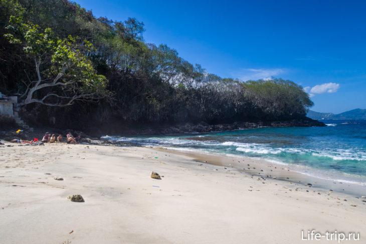 Пляж Blue Lagoon на Бали