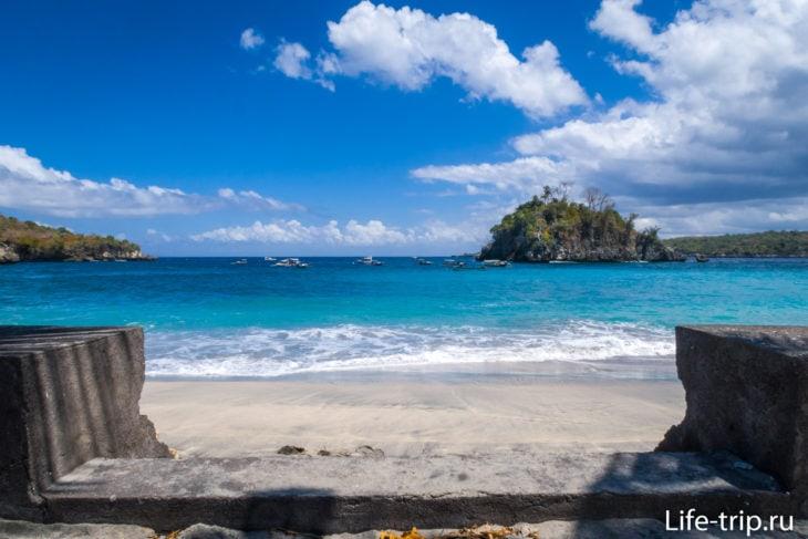 Кристал Бэй (Crystal Bay Beach) - закатный пляж Пениды
