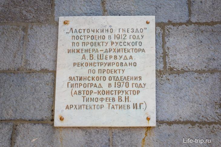 Ласточкино гнездо в Крыму: где находится, история