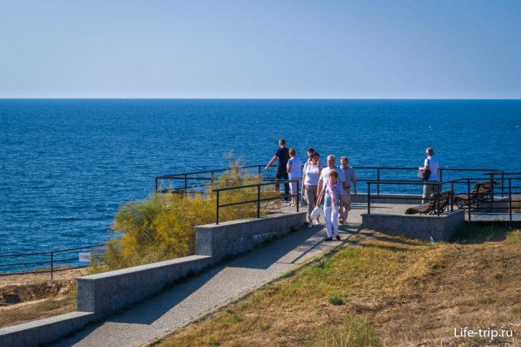 35-я береговая батарея в Севастополе - фото, история