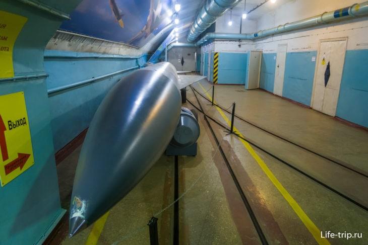 Музей подводных лодок в Балаклаве - он же объект 825 ГТС