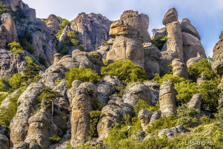 Долина привидений в Крыму - как добраться, фото, карта