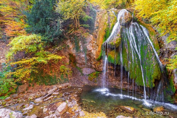 Водопад Джур-Джур - где находится и как добраться