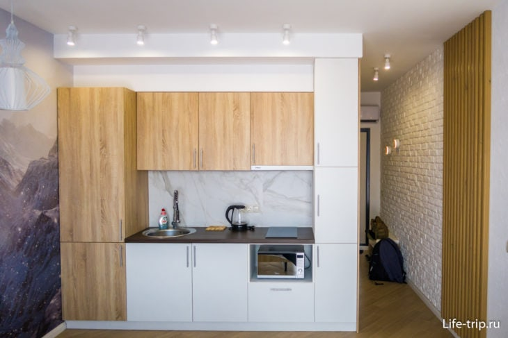 Helge rooms R3 – гостевые апартаменты в Кудепсте