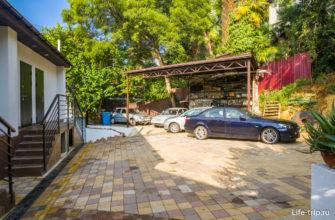 Внутренняя парковка апартов