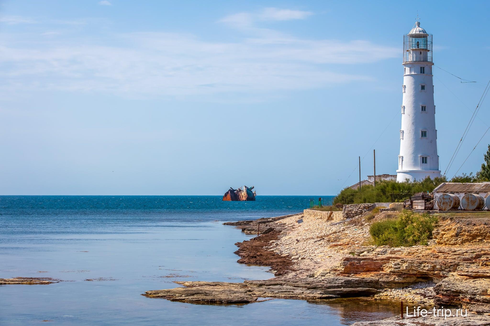 Херсонесский маяк в Крыму