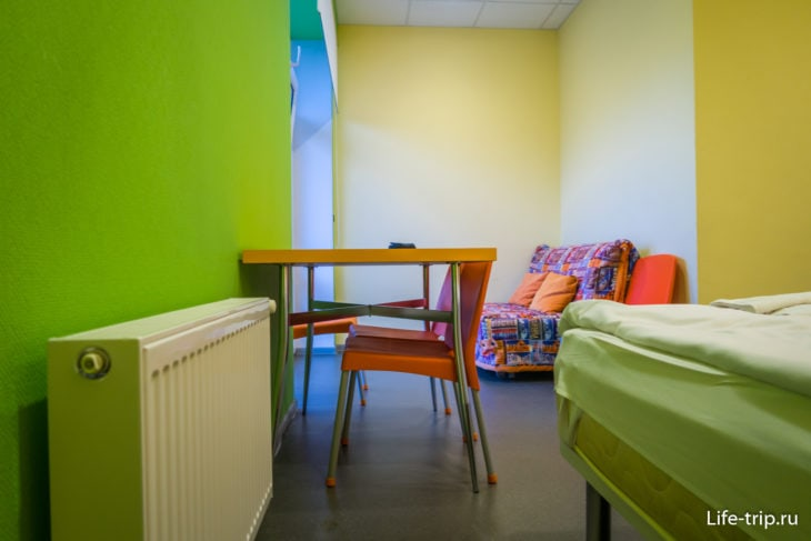 Отель «Борода» – стерильный хостел в удобном месте